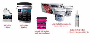 Laticrete 15 Premium Mastic 310 Stone Epoxy Adhesive NXT Primer1