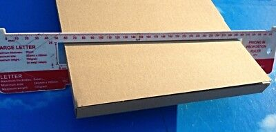 LARGE LETTER POSTAL BOXES X 25 C4 A4 Size for Postage