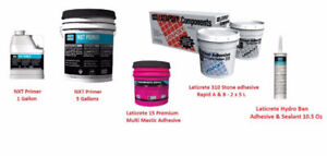 Laticrete 15 Premium Mastic 310 Stone Epoxy Adhesive NXT Primer