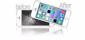 CHEAPEST BROKEN iPHONE 5,6 SCREEN LCD REPAIR FIX.60 DAY WARRANTY Windsor Region Ontario image 3