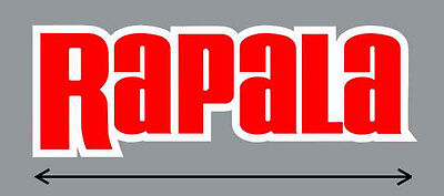 """5"""" Rapala High Quality Decal Sticker Tackle Box Lures Fishing Boat Truck trailer"""