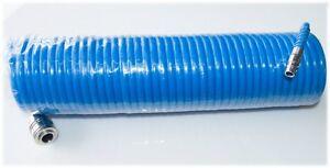 Druckluftschlauch Druckluftspiralschlauch Schlauch Craft-Equip 6x8mm PE 1/4