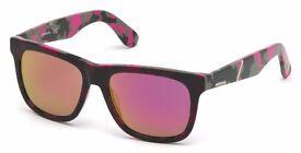 diesel pink camo woman sunglasses DL0116 RRP 115 GBP