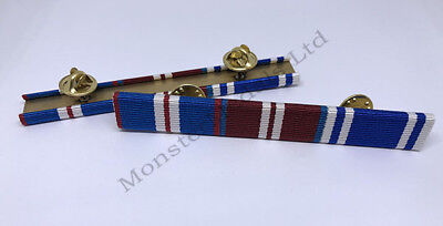 Golden Jubilee 2002 - Diamond Jubilee 2012 - Police LSGC Ribbon Bar(pin on stud)