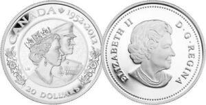 2012 $20 fine silver coin, The Queen's Diamond Jublice(with Phi)
