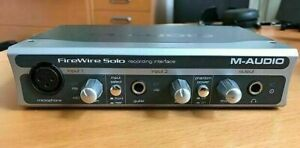 M Audio FireWire Solo Interface