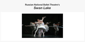 Swan Lake by Russian National Ballet Theatre