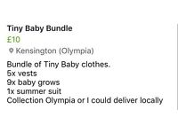 Tiny baby bundle
