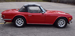 1975 TR6 with 302 V8, professional quality build