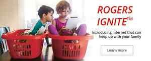 ROGERS IGNITE INTERNET (PAY THE STUDENT PRICE)!!!
