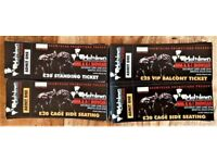 MMA,BOXING,K1 tickets! Pro MMA tickets!!