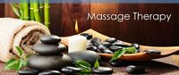 Massage therapy $60 1 hour or $40 1/2 hour
