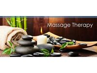 Massage by male therapist
