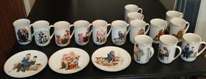 FOR SALE: Norman Rockwell cups & plates