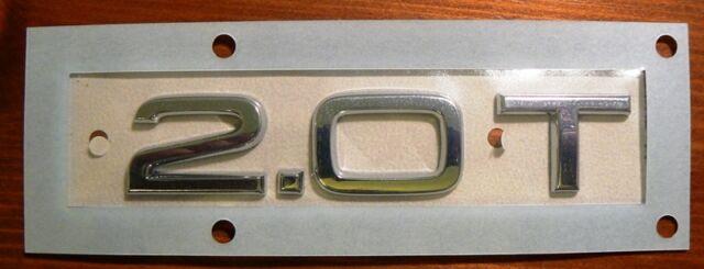 Original Audi 2.0 T A5 Emblem Slogan Logo 8H0 853 743 H 2ZZ