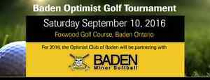 Optimist Club of Baden Golf Tournament Sept 10th