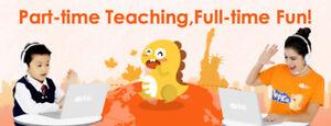 K-6 Online ESL Teacher - Part-Time Independent Contractor with V