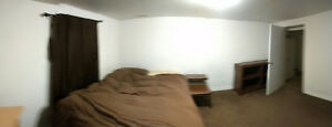 Basement room in the center or deep river