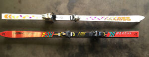 2 (two) sets of DOWNHILL SKIS - K2 Performance & Fisher FOR SALE