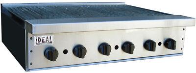 New 36 Commercial Radiant Broiler By Ideal. Made In Usa. Nsf Etl Approved.