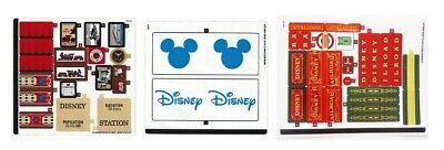LEGO 71044 - Disney - Disney Train and Station - STICKER SHEET 1,2, & 3