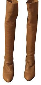 Gorgeous leather over the knee boots
