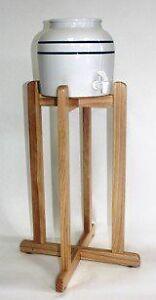 Ceramic Water Crock Dispenser w/ Stand