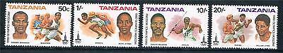 Tanzania 1980 Olympic Games SG 302/5 MNH