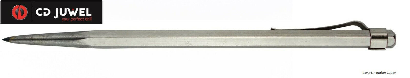 CD Juwel HM Anreissnadel 140 mm Reissnadel Anreißer Markierwerkzeug