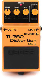 BOSS TURBO DISTORSION DS-2