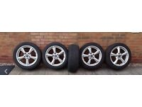 "18"" Alloy wheels and tyres for Renault traffic"