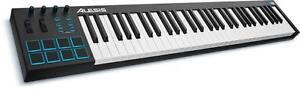 Alesis V61 contrôleur clavier et drum pad MIDI/USB de 61 touches