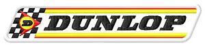 Dunlop racing flag ecusson brodé patche Thermocollant iron-on patch - <span itemprop='availableAtOrFrom'>Poznan, Polska</span> - Zwroty są przyjmowane - Poznan, Polska