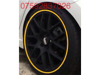 Alloy wheel guards Clio Sport Turbo Civic TypeR Leon FR Fiesta Focus RS ST Corsa Astra VXR SRI GSI