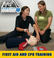 First Aid & CPR with AED Classes - Next May 9/10!