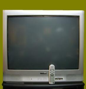 """27"""" CITIZEN CRT flat TV with remote"""