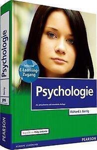 Psychologie mit E-Learning von Richard J. Gerrig und Philip G. Zimbardo...