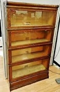 Buying Antique Oak Lawyers Sectional Stacking Bookcases