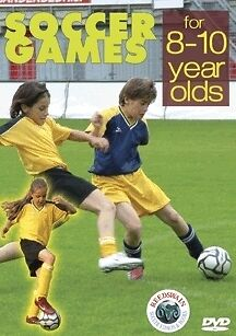 Soccer Games for 8-10 Year Olds DVD - Games For 8 Year Old
