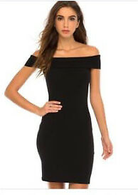 Size 6 new look off shoulder dress