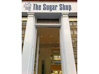 London's Top Male body Hair Removal Specialists, The Sugar Shop, require Trainee Sugaring Therapist