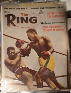 BOXING MAGAZINE. RING MAGS ETC.1950'S TO 80'S