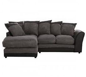 Brand new Argos harry corner sofa