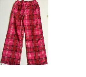 Size Medium La Senza Pyjama Pants Red and Pink Plaid