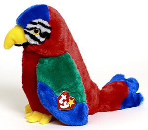 Jabber the Parrot Ty Beanie Buddy stuffed animal Kitchener / Waterloo Kitchener Area image 1