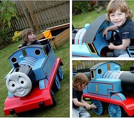 Thomas The Tank Engine Metal Pedal Car