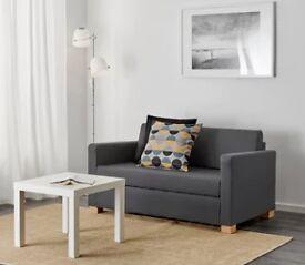 Ikea Two-seat sofa-bed dark grey NEW!!!