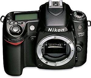 Nikon D80 - Body Only