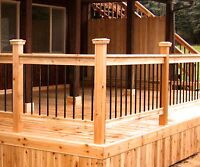 Fence & deck staining & sealing! 15% off book today /free quote