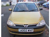 Vauxhall corsa 1.7 cdti 3door yellow very good condition